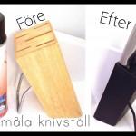 Sprayfärg ger snabbt nytt utseende